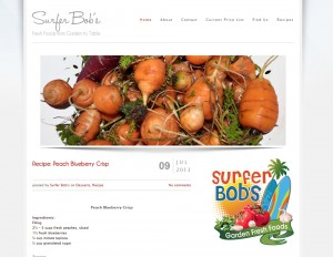 Surfer Bob's web development